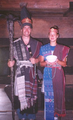 picture of Ancestral rulers of the Batak people (lake Toba)