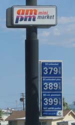 picture of gas prices