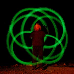 Pic of me twirling poi
