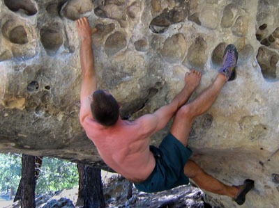 picture of bouldering at priest draw