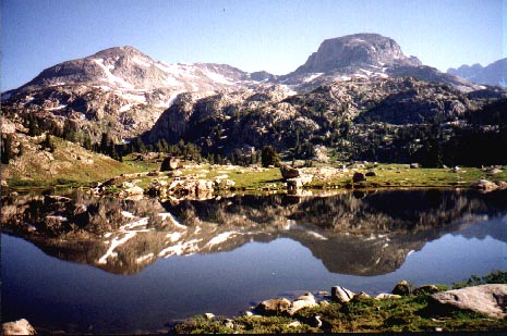 Pic of Wind river range